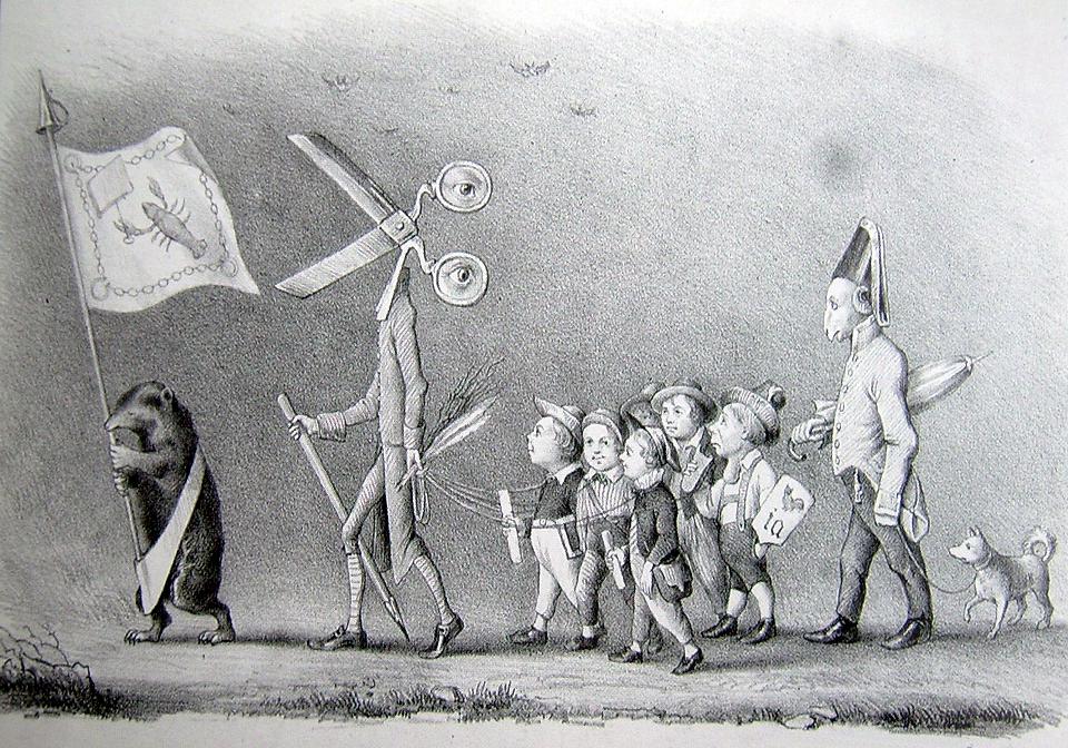 Karikatur 1847