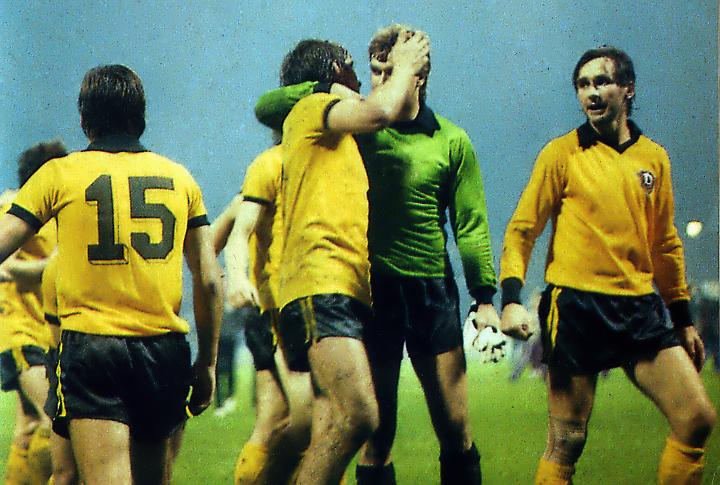 Dynamo Dresden nach dem Abpfiff