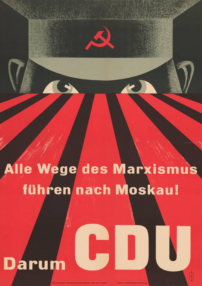 Historisches Wahlplakat der CDU