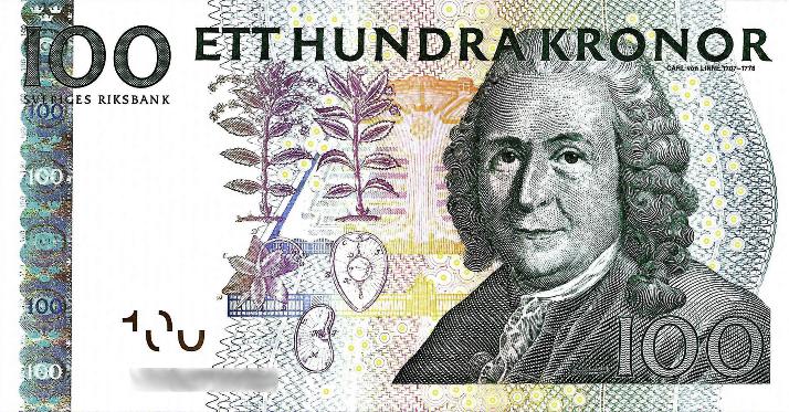 100 schwedische Kronen