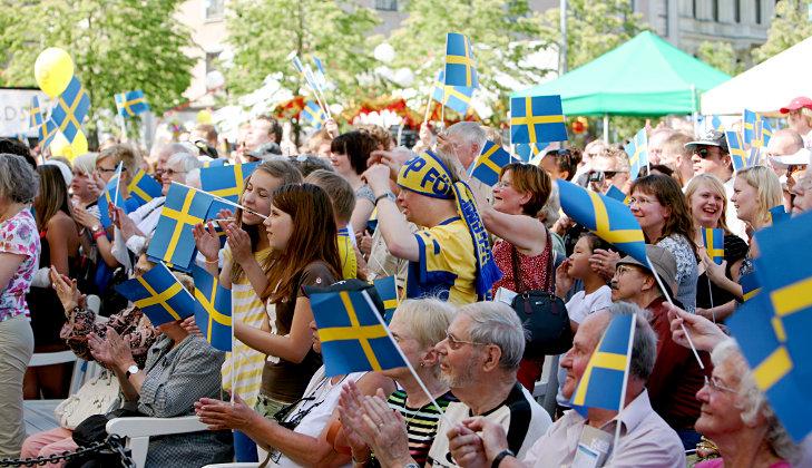Nationalfeiertag in Schweden